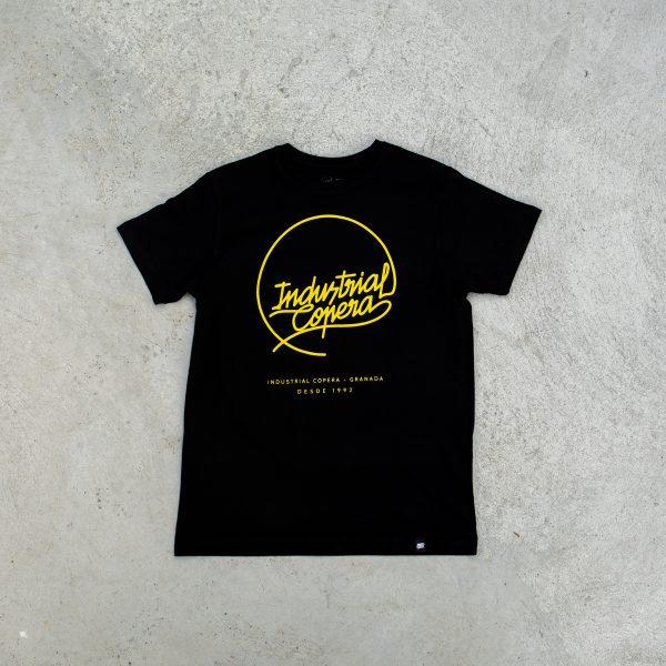 Camiseta Logo Industrial Copera Amarillo