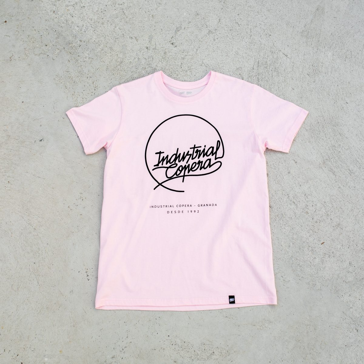 Camiseta Rosa Industrial Copera Logo