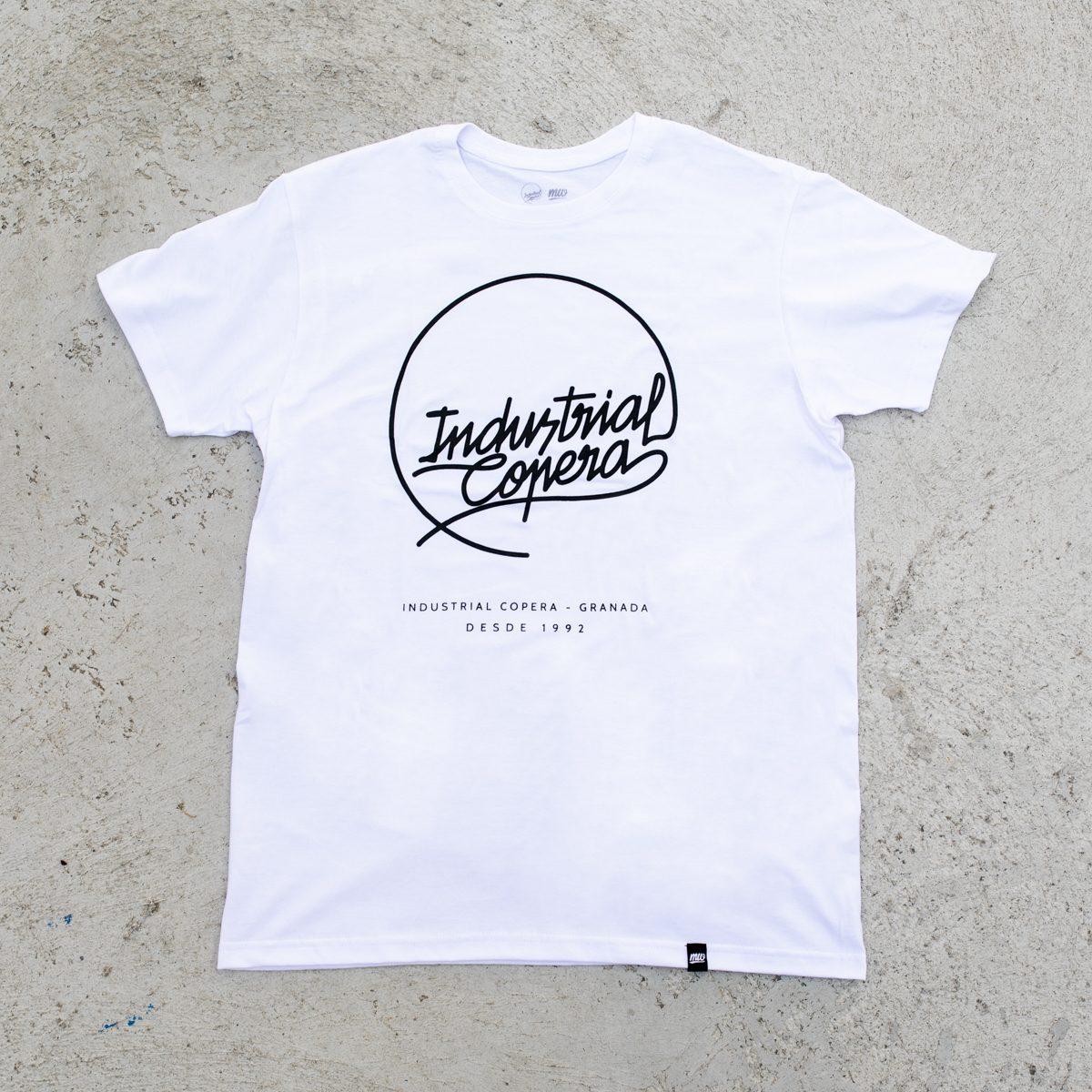 Camiseta Blanca Logo Industrial Copera