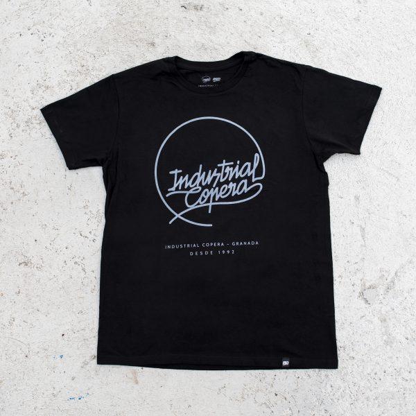 Camiseta Industrial Copera Logo Gris