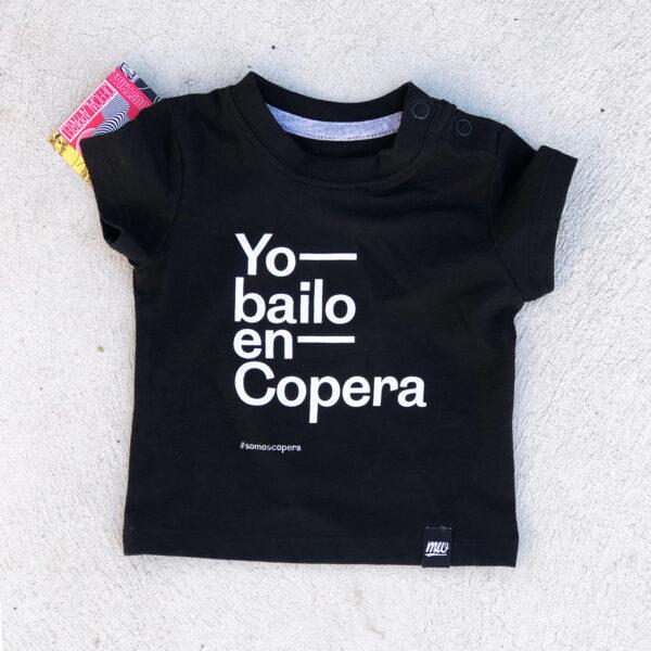 Camiseta niño yo bailo en Copera